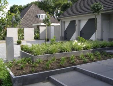 Tuin met meerdere lagen